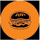 همبرگر 75 درصد ممتاز منجمد
